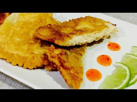 Сочная и мягкая куриная грудка в кляре. Как приготовить куриную грудку. Блюда из курицы.