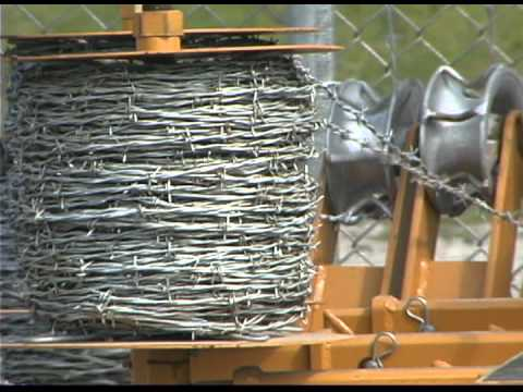 Barbed Wire Dispenser