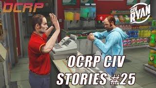 GTA5 RP | OCRP Civ Stories #25 - Store Clerk Amnesia