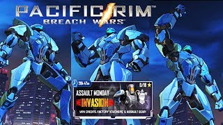 Pacific Rim: Breach Wars - November Ajax Jaeger - Assault Monday Event iOS/Android Gameplay