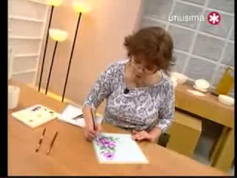 pintura flor.flv