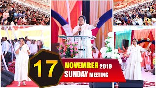 ANUGRAH TV - 17-11-2019 Sunday Meeting Live Stream
