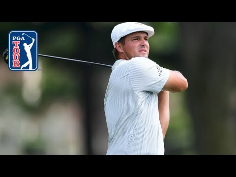 Bryson DeChambeau's 343-yard CARRY leads to eagle at Rocket Mortgage