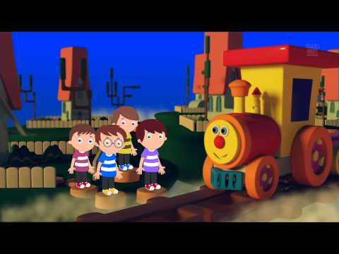 Ben's Been Working On The Railroad | Fun With Ben The Train | Original Rhymes By LBC