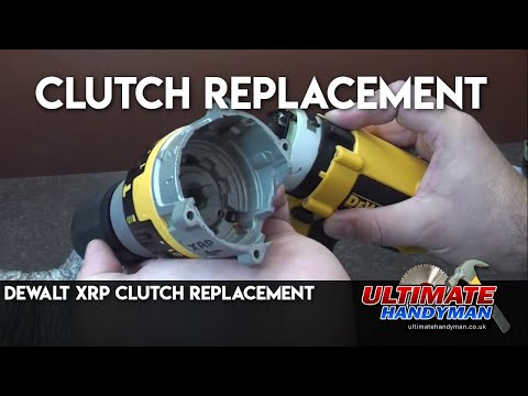 Dewalt XRP torque unit replacement