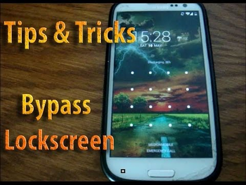 How to bypass Android Lockscreen Tips & Tricks (Rooted devices)