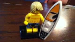 "Information on Lego minifigure series 2 ""Surfer"""