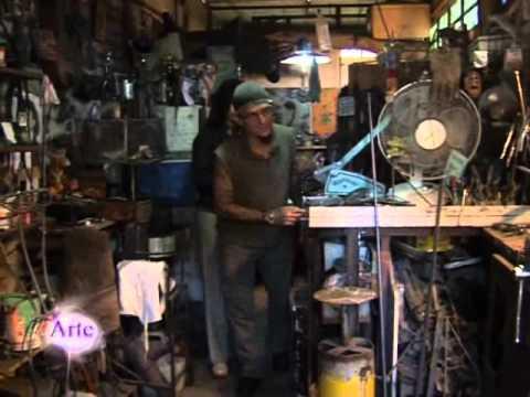 El arte de crear con hierro tornillos y viejas piezas de - Como soldar hierro ...