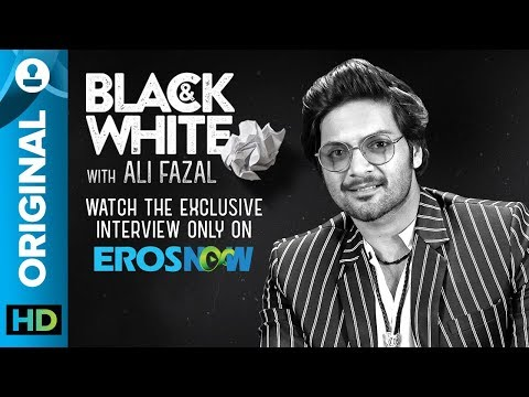 Black and White Interview with Ali Fazal