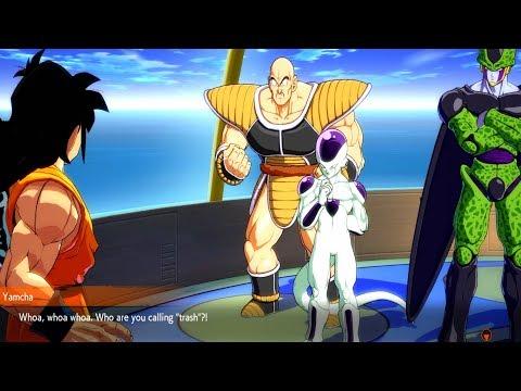 Dragon Ball FighterZ - Yamcha Getting Roasted