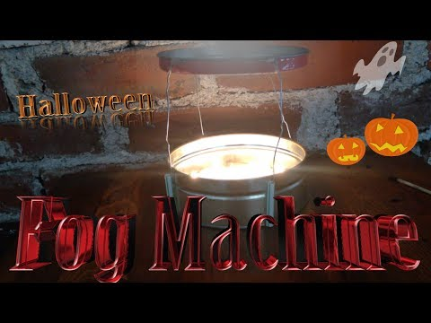 How to Make a Halloween Fog Machine