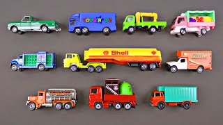 Learning Trucks for Kids - Truck Street Vehicles by Hot Wheels Matchbox Tomica トミカ Organic Learning