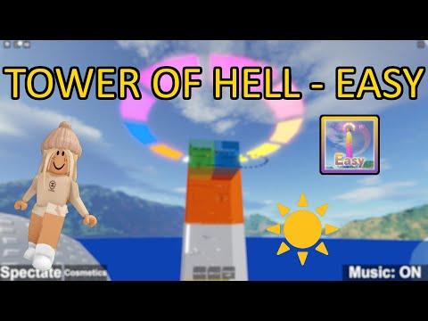 Ich spiele Tower of Hell - Easy [SUMMER EVENT] in Roblox! + Verlosung (Deutsch) | RobloxLara