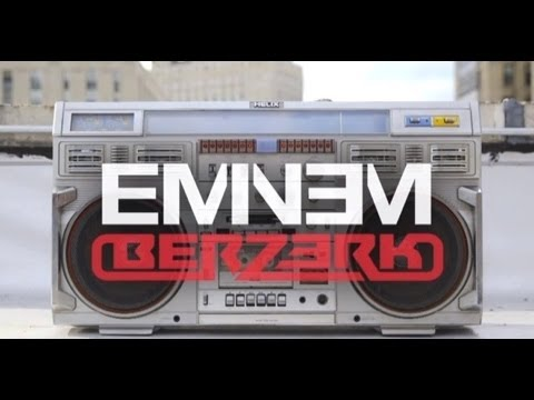 Eminem - Berzerk (clean + Lyrics) video