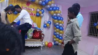 Couples game on stage conducted by Chennai Event Emcees Lambo Kanna
