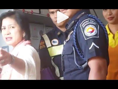 Melissa Mendez Cebu Pacific Plane Scene VIDEO