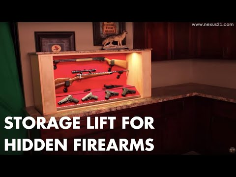 Home Gun Concealment System For Hidden Firearms YouTube