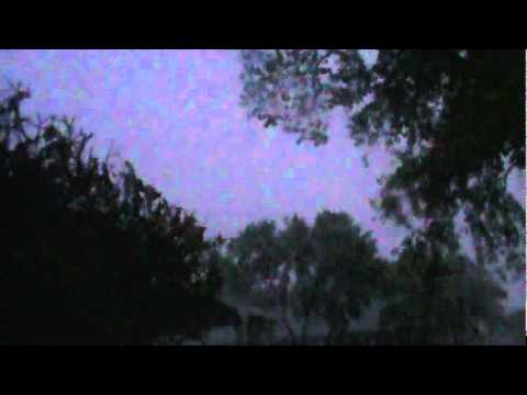 San Antonio Texas Thunderstorm 10/8/11 (POST-STORM)