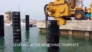Marine Pile Driving - Marine Construction
