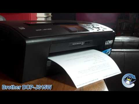 Brother DCP-J315W Printer Review