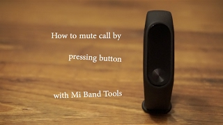 Mi Band Tools: Button Dismiss [Mi Band 2]