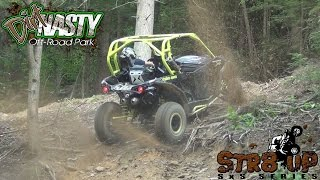 STOCK 1000 XDS TURBOCHARGED CANAM FIRST UP STR8 UP SXS DIRT NASTY BOUNTY HILL