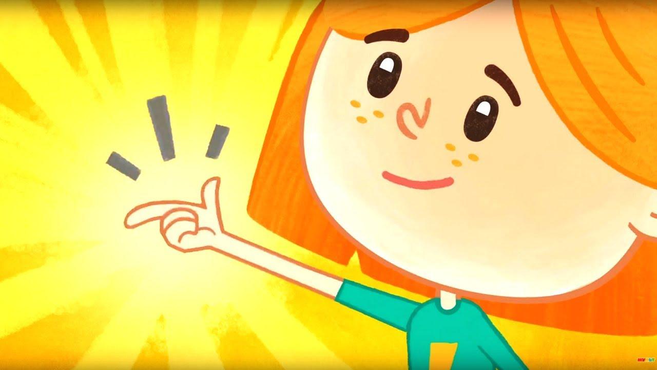 Премьера! Катя и Эф.Куда-угодно-дверь - Письмо - Серия 1 - мультики для детей