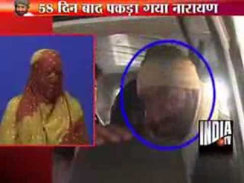 Victim accusing Narayan Sai relieved after his arrest