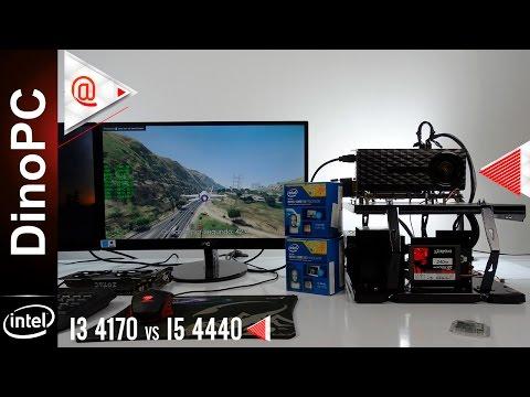 I5 4440 vs I3 4170 + GTX 970 4GB - FPS Teste em 5 Games