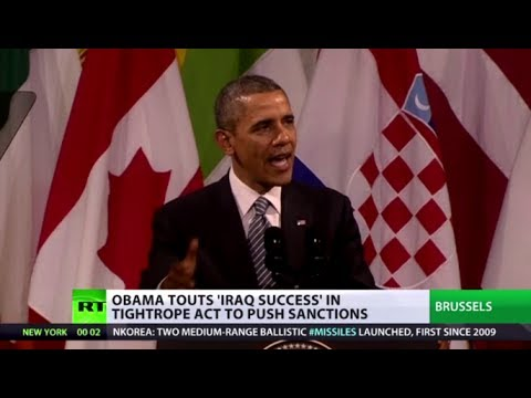 Say what? Obama claims 'Iraq invasion not as bad as Crimea'