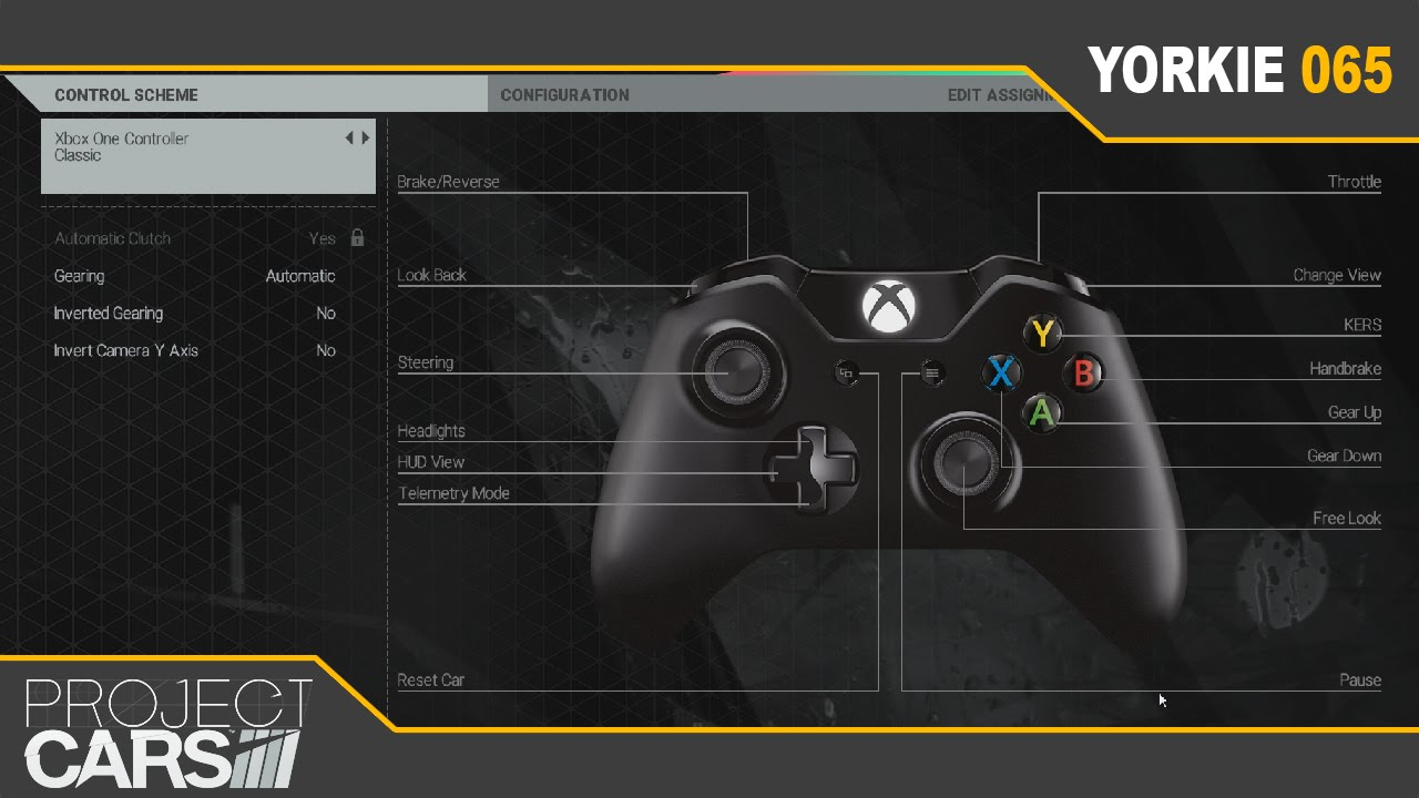 Wheel Project Cars Project Cars How to Setup