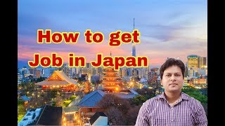 How to get Job in Japan