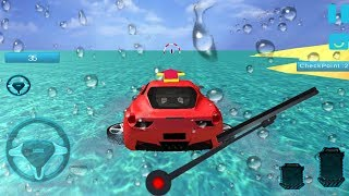 Water Surfer Car Floating Race 2018 - Gameplay Android game - floating race 2018