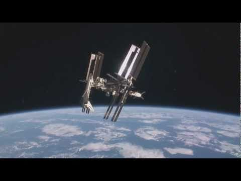 International Space Station Docked w/ Shuttle Endeavour
