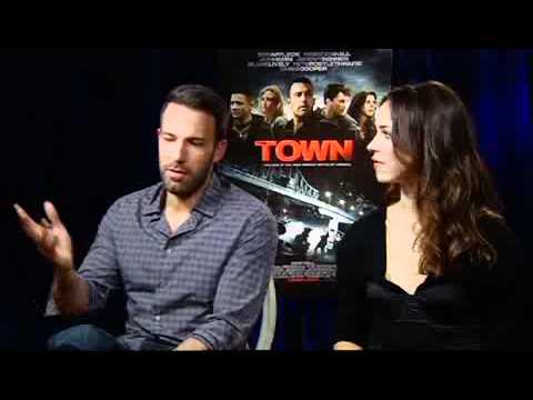 BEN AFFLECK Interview - The Town