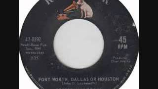 Watch George Hamilton Iv Fort Worth Dallas Or Houston video