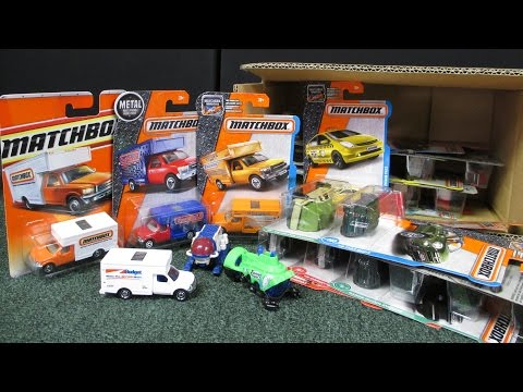 Matchbox 2017 C Factory Sealed Case Unboxing 2017 Matchbox Case