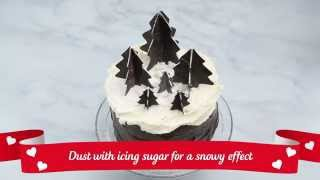 How to... Make 3D Chocolate Christmas Trees