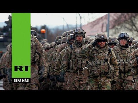 La OTAN y EE.UU. simulan las condiciones de una guerra en el este de Europa