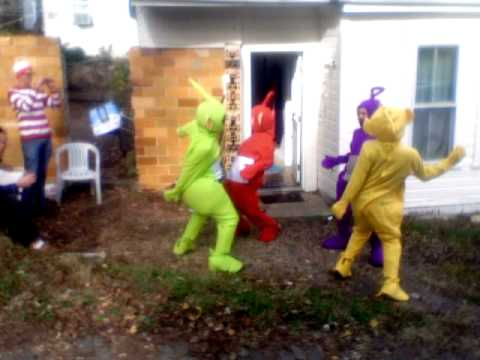 Moving Like Bernie: Teletubby Style