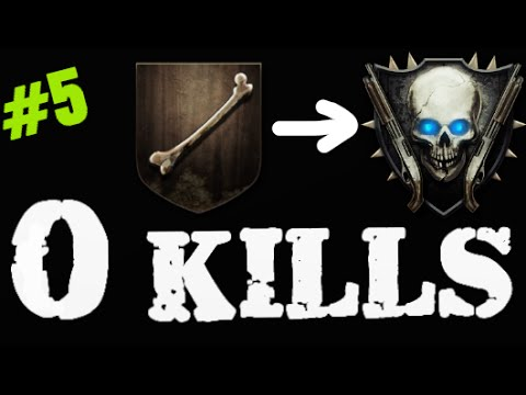 Road to 0 Kills Shotgun Rank! #5 - Black Ops 2 Zombies How to Rank Up - Origins