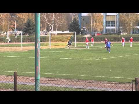 Piłka Nożna: Unia Tarnów - Wisła Kraków (bramka 1-0)