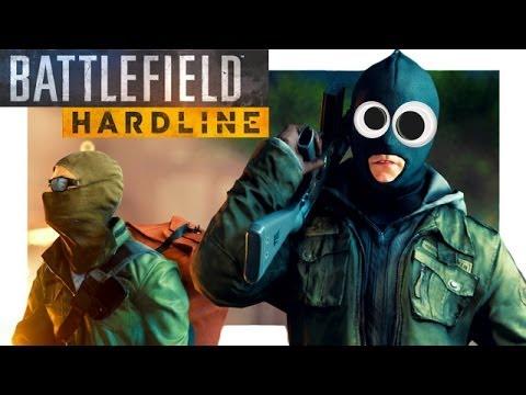 Funny Battlefield Hardline Moments - BFH Multiplayer Gameplay - tazer trolling