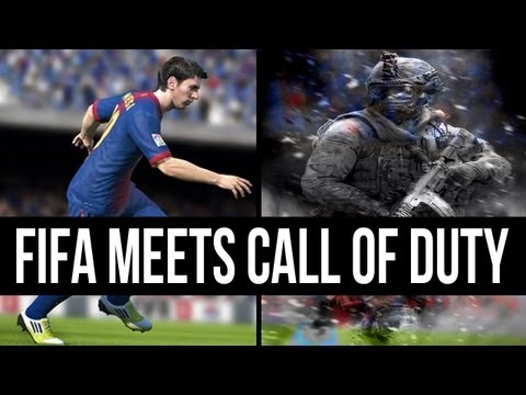 Call of Duty with Fifa Commentators