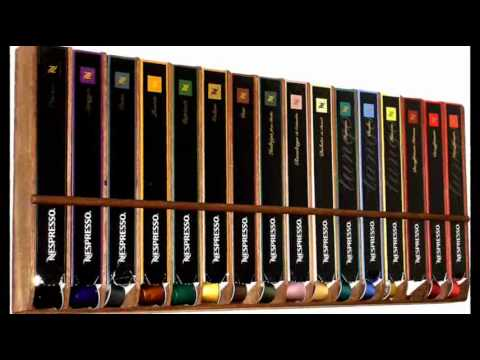 nespresso kapsel wandhalterung eigenbau youtube. Black Bedroom Furniture Sets. Home Design Ideas
