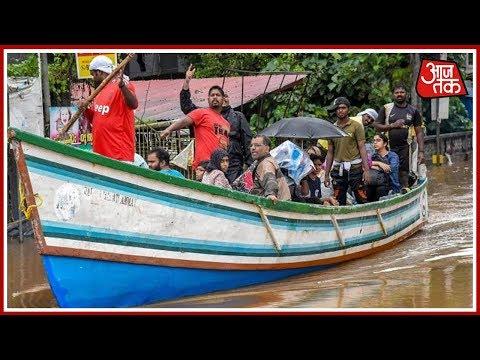 Kerala Floods: सड़क पर तैरती नाव, सैलाब में फसा इंसान ! thumbnail