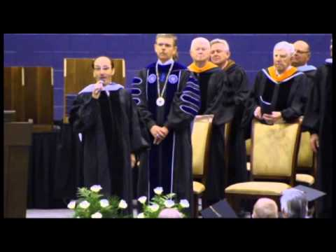 "Trine University - Lee Greenwood performs ""God Bless the USA"""