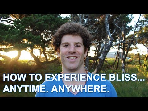 How to Experience Bliss - Living Life as a Particle vs. a Wave