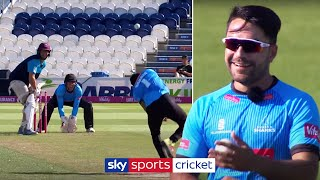 Rashid Khan vs Marcus Trescothick | One Over Challenge | Bowling Masterclass