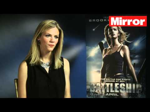 Brooklyn Decker on working with Rihanna in Battleship